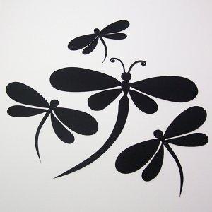 Dragonflies - Die Cuts Scrapbooking
