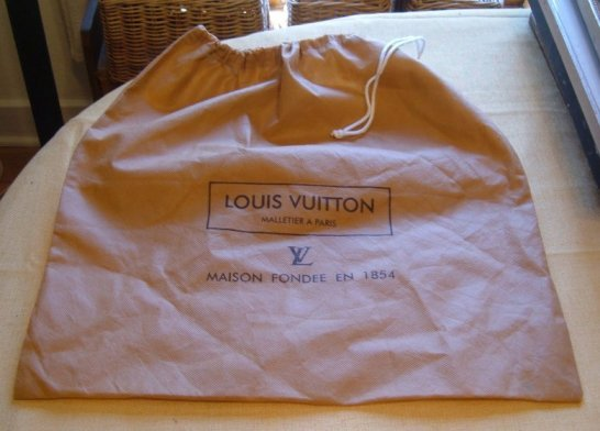 Vuitton Drawstring Bag