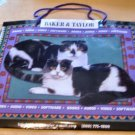 Baker & Taylor Kitty Cat Collectible Gift Bag