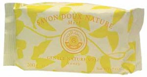 5 Roger Gallet Doux Nature Honey Guest Soaps