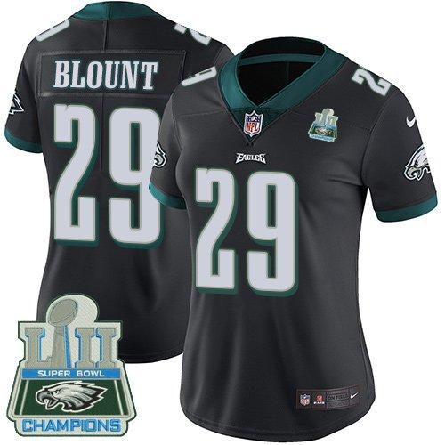 ad52c46c18a Womens Philadelphia Eagles  29 LeGarrette Blount Black Limited Jersey