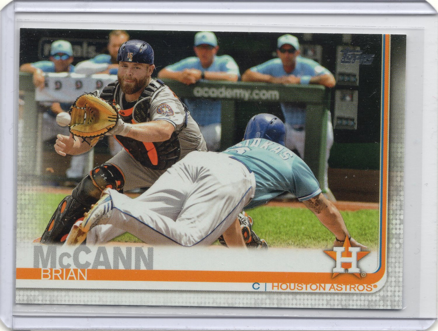 Brian Mccann 2019 Topps Series 1 Card 322 Houston Astros