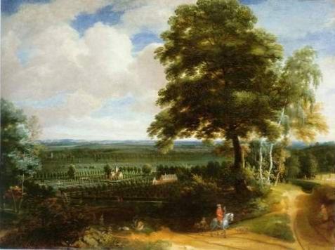 Jacques d'arthois -  PANORAMIC LANDSCAPE