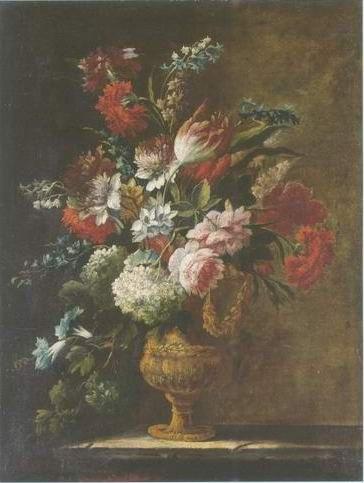 Karel van vogelaer - FLOWERS STILL LIFE