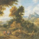 pieter bout II - MOUTAINOUS LANDSCAPE