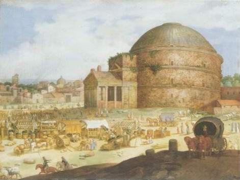 william van Nieulandt - VIEW OF THE PANTHEON