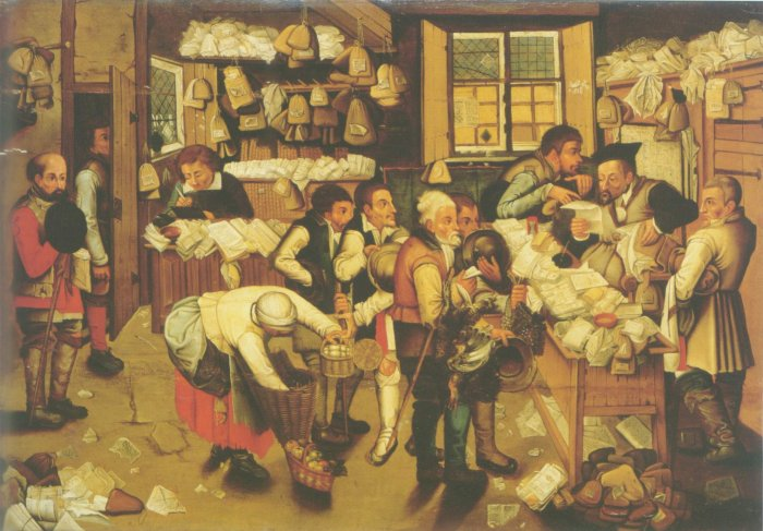 Pieter grueghel II - THE PAYMENT OF TITHES