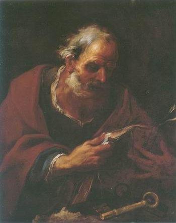 Pier Francesco Mola paintings - SAINT PETER