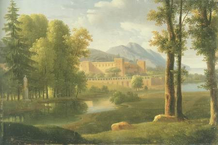Alexandre Hyacinthe Dunouy - THE PALACE
