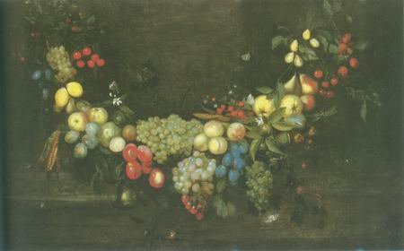 Catharina Ijkens  - A SWAG OF FRUIT