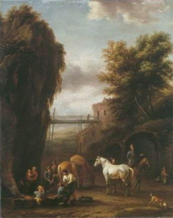 Barend Gael - TRAVELLERS AT FORGE