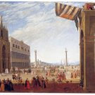 Joseph Heintz II - BACINO FROM THE PIAZZA SAN MARCO