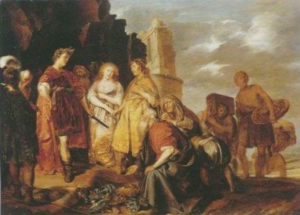 Pieter Codde - THE CONTINENCE OF SCIPIO