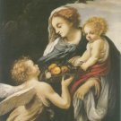 Giovanni Battista Vanni - THE MADONNA AND CHILD WITH AN ANGEL