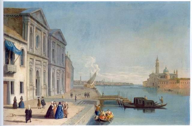 Johann Anton Richter - SAN GIORGIO MAGGIORE