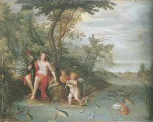 Jan Van kessel I - AN ALLEGORY OF WATER