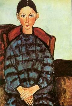 Amedeo Modigliani - SITTING LADY