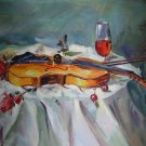 canvaz team  - VIOLIN STILL LIFE