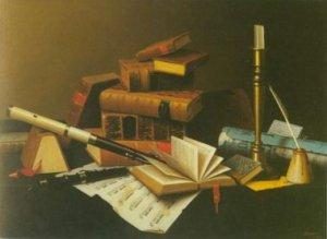 William Harnett - MUSIC AND LITERATURE