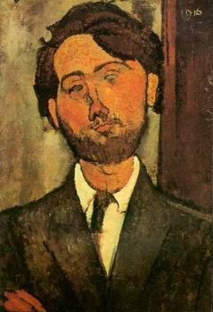 Amedeo Modigliani - PORTRAIT OF POET