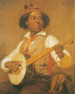 william sidney mount - THE BANJO PLAYER