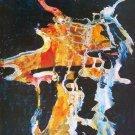 GROUP OF DANCERS - Lee qing ping paintings