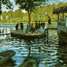 LA GRENOUILLERE,1869 - Claude Monet paintings