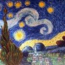 STARRY NIGHT - Vincent Van Gogh paintings