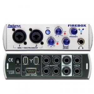 PreSonus 6x10 Firewire Recording Interface - FBOX