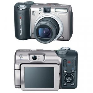 Canon Powershot A650 IS 12.1 MP Kit - (w/ 2GB SD Card) - 2089B001