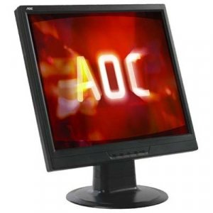 "AOC 17"" 1280x1024 .264 LCD Black w/speakers - 177SA-1"