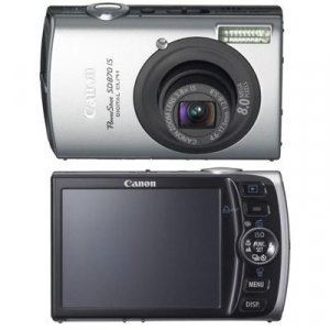Canon ELPH SD870 IS 8.0 MP (w/ 2GB SD Card) - 2086B001