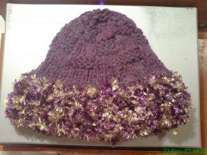 Ladies Hat with trim