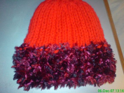 Ladies Hat with trim