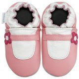 new soft soled baby leather shoes MARY JANE (0-6 mo)
