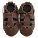 new soft soled baby leather shoes SANDALS (12-18 mo)
