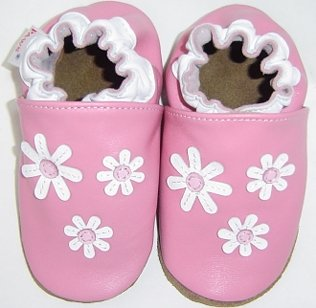 new soft soled baby toddler leather shoes DAISY (12-18 mo)