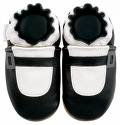 new soft sole baby leather shoes MARY JANE black (12-18 mo)