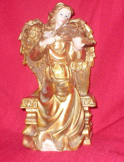 Golden Angel with Violin