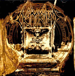 """DETRIMENTUM - """"A MONUMENT TO THE SUFFERING"""" - CD"""