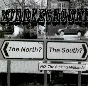 PUNK SH*T RECORDS - MIDDLEGROUND - COMPILATION CD