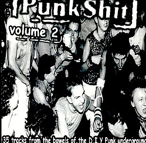 PUNK SH*T VOLUME 2 - COMPILATION CD