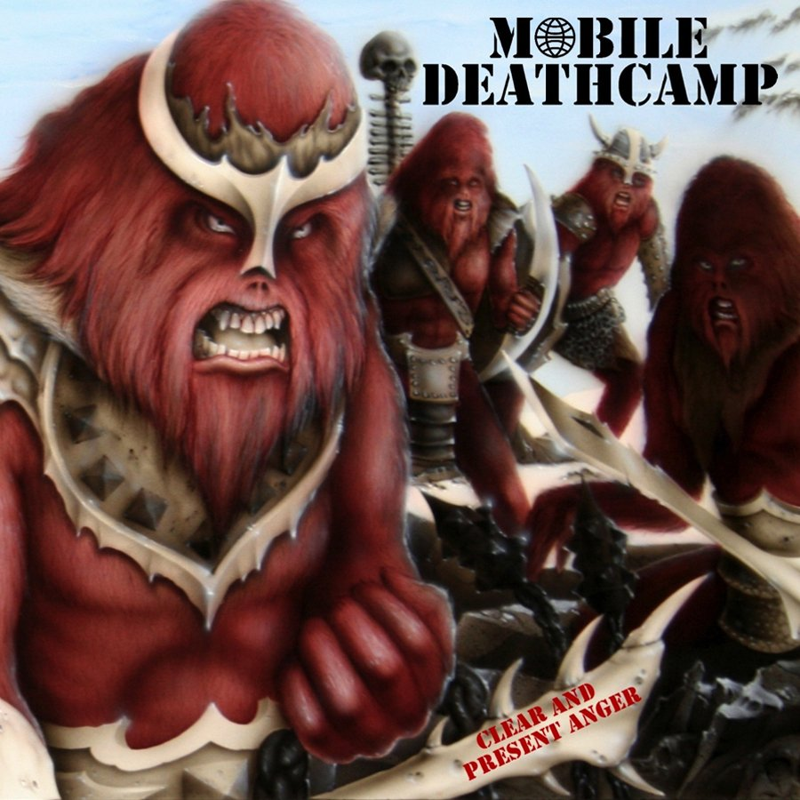 MOBILE DEATHCAMP - CLEAR AND PRESENT ANGER - CD