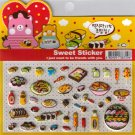 Korean Happy Foods Sweet Sticker Sheet # 3