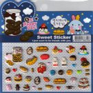 Korean Happy Foods Sweet Sticker Sheet # 5