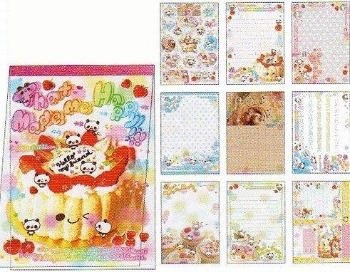 100 pc. grabbie lot of kawaii memos and stationery sheets