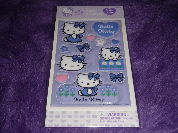 Hello Kitty Big Puffy Sticker Sheet