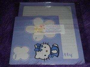 Hello Kitty Letter Set- Purple