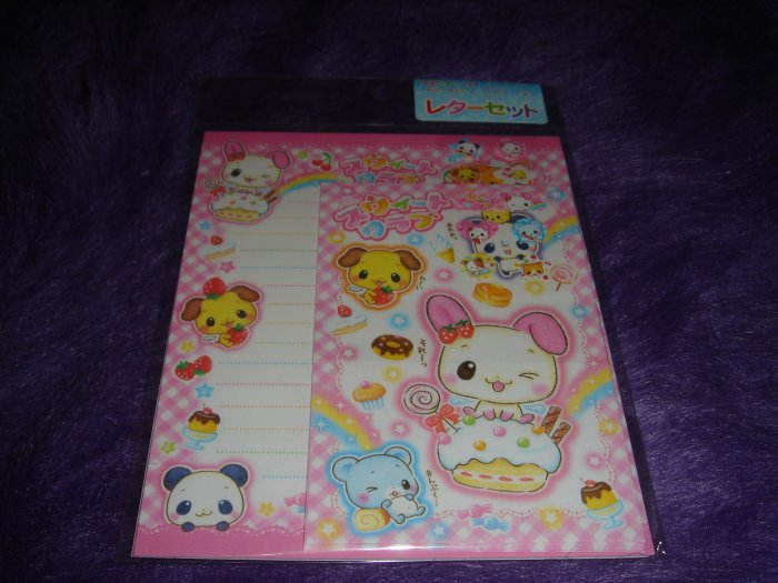 Affect Japan Cupcake Friends Letter Set Kawaii