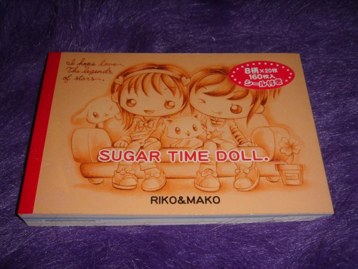 Crux Sugar Time Doll Large Memo Kawaii